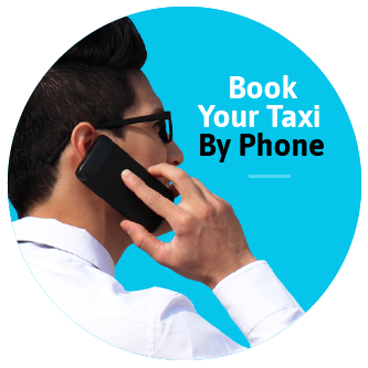 Book your taxi by phone!